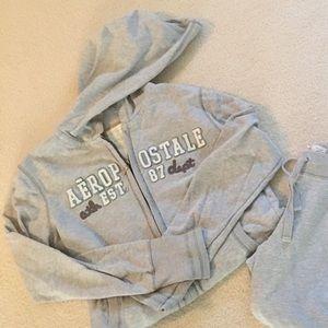 Aeropostale zip up hoodie